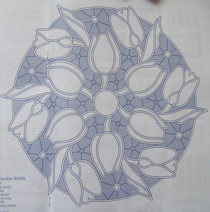 Disegno carta per centro, ricamo a intaglio - Manidifata.it - Google ...
