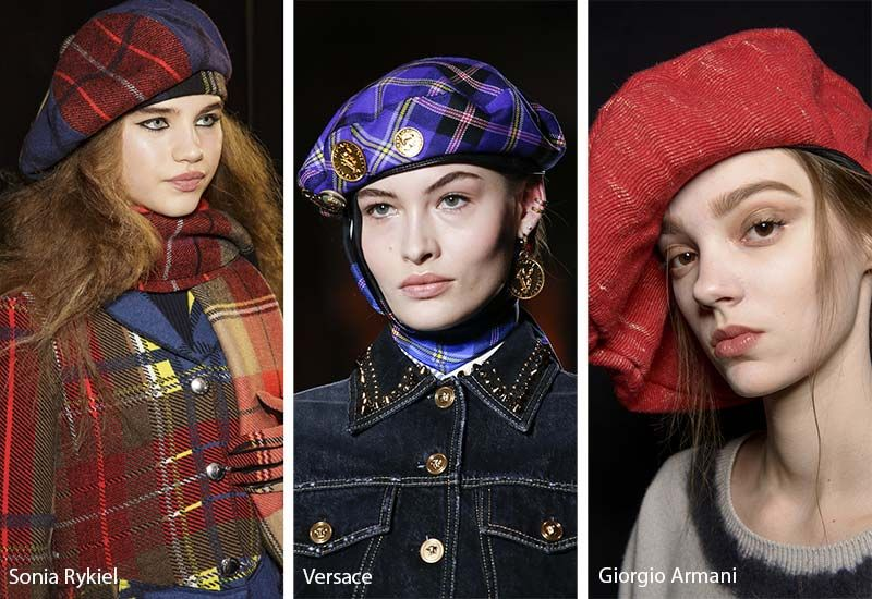 1b19c981421 Fall  Winter 2018-2019 Hat Trends  Military and French Berets