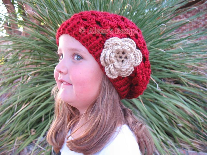 Crochet Pattern 057 Crochet Hat Pattern Hat Crochet Pattern For
