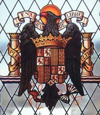 Aguila De San Juan Bandera España Bandera Franquista Escudo De Armas