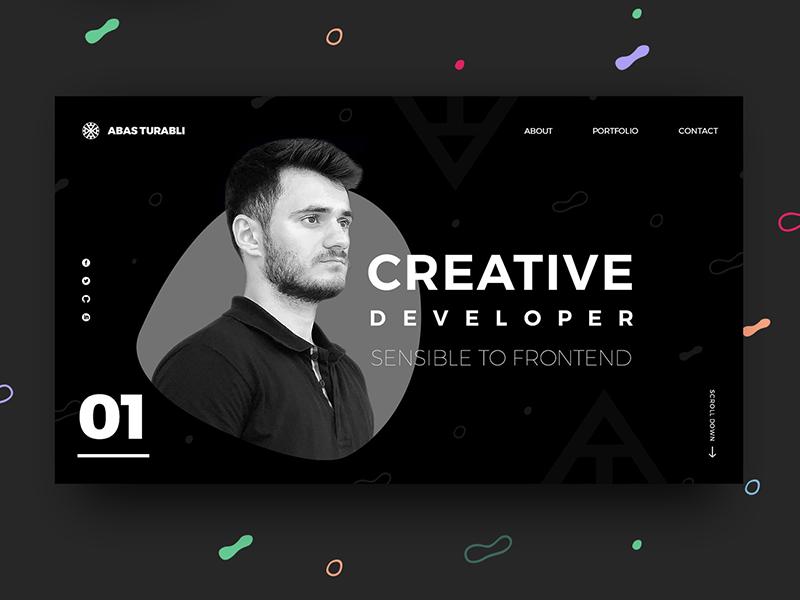 Front End Developer Portfolio Website Design Portfolio Website Design Portfolio Web Design Portfolio Design