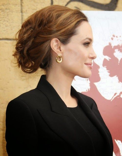 Imperfect Messy Hairstyles For All Lengths Hair Styles 2014 Angelina Jolie Hair Messy Hairstyles