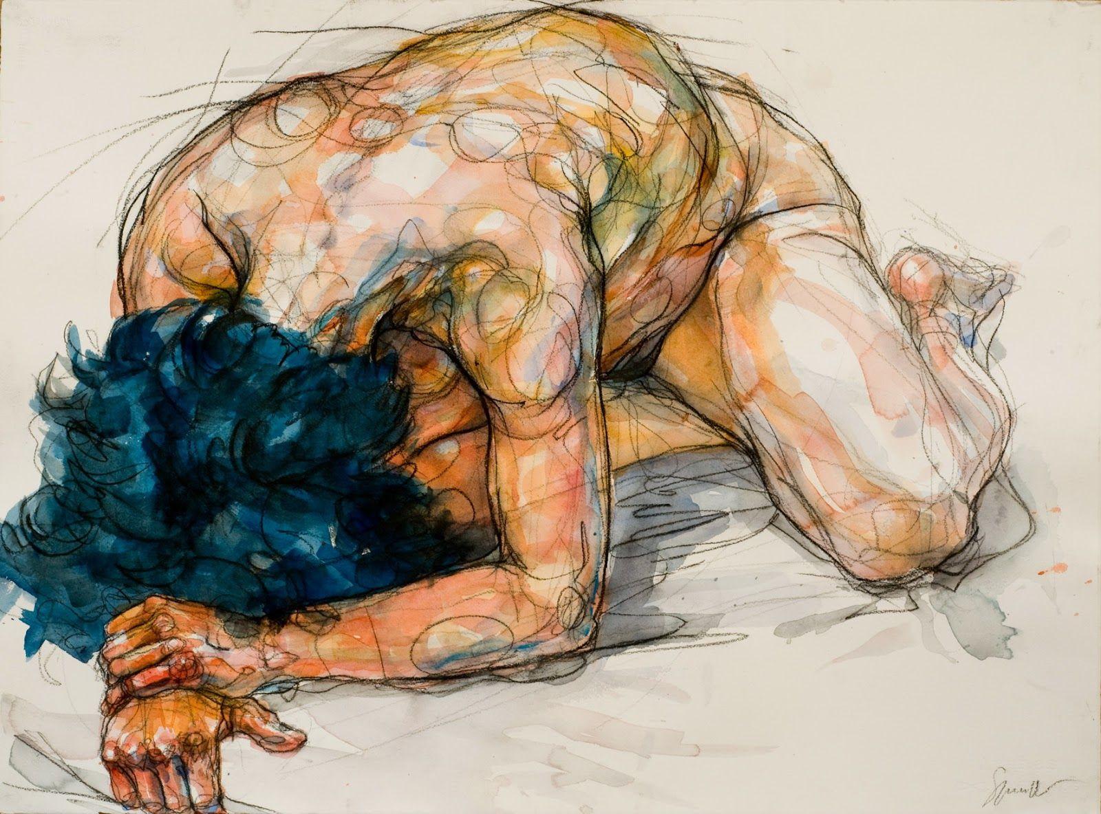 Watercolour © by Sylvie Guillot | Watercolor Portraits | Pinterest ...
