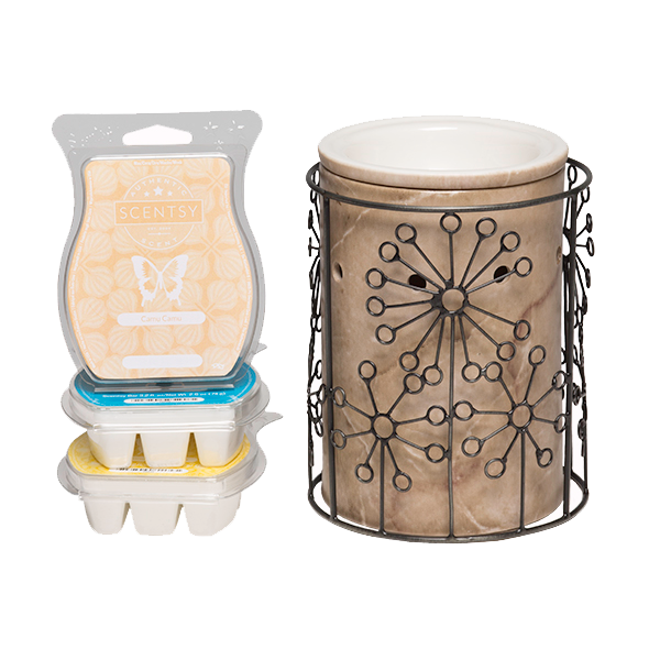 1 $40 Warmer (Silhouette) + 3 Scentsy Bars for $54 (save $1)