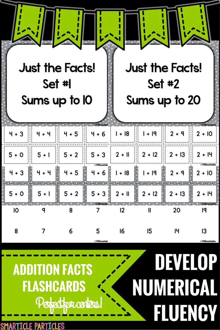 basic facts addition flash cards addition facts math and math resources. Black Bedroom Furniture Sets. Home Design Ideas