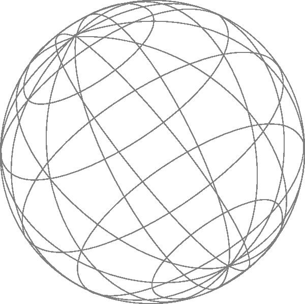 Wire Globe Gray Clip Art At Clker Com Vector Clip Art Online Globe Icon Clip Art Globe Vector