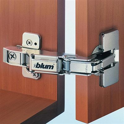 Blum Clip Top Hinge W Cam Plate 170 Degrees Full Diy Cabinet Doors Hinges Hinges For Cabinets