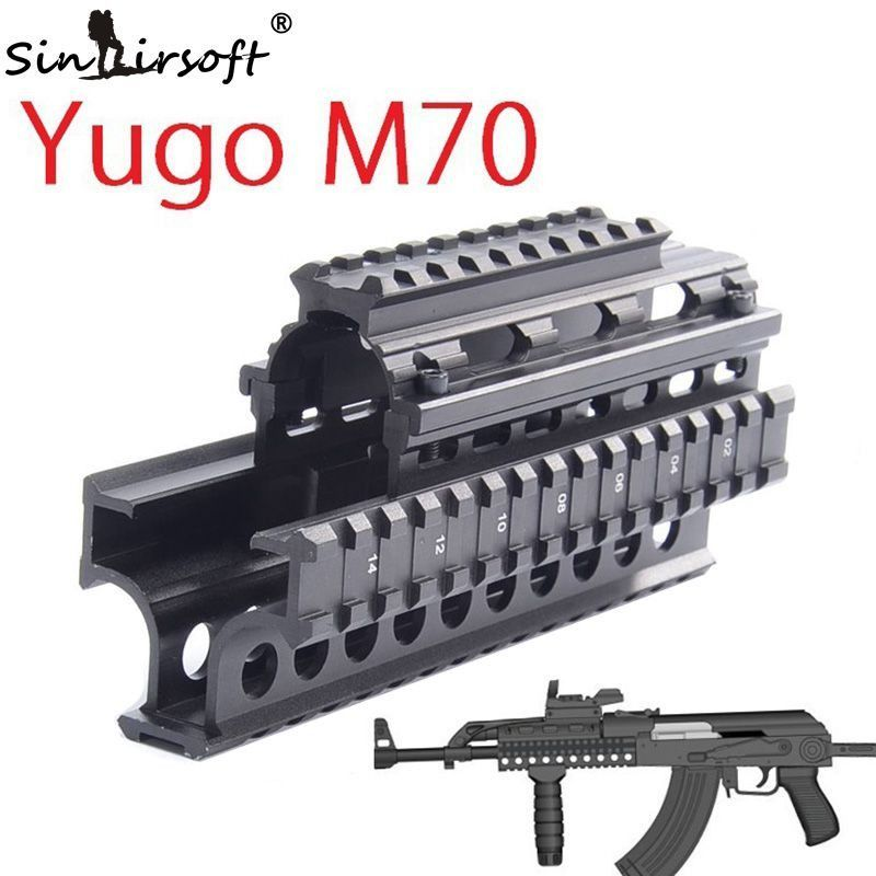Yugo M70 Quad Rail System Mount scope AK 47 74 MNT-HG470A