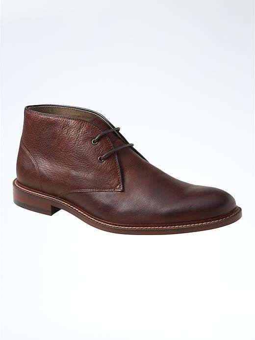 The Best Men's Shoes And Footwear : Norman Leather Chukka Boot.