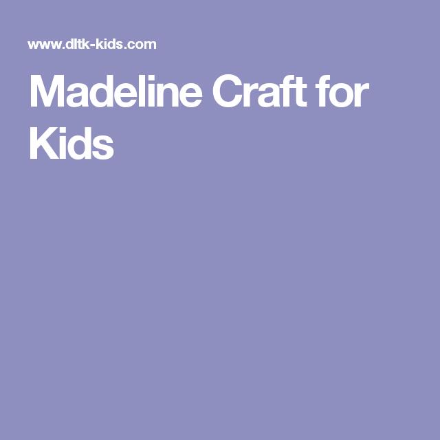 Madeline Craft for Kids   Children\'s Librarian   Pinterest ...