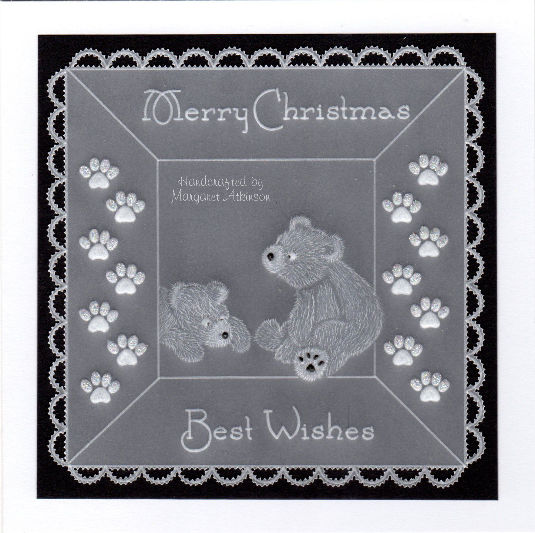 Linda Williams Snowy Baby Groovi Plate A5 Square
