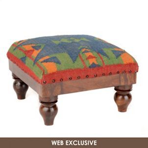 Cool Product Details Southwest Kilim Ottoman Home Kilim Alphanode Cool Chair Designs And Ideas Alphanodeonline