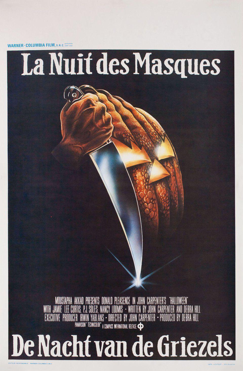 Halloween 1978 Belgian Poster Posteritati Movie Poster