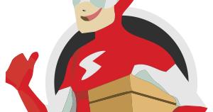 Download Maskot Sicepat Express Vektor Png Cdr The Flash Flash