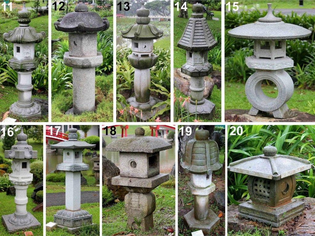 How To Make A Concrete Japanese Lantern Google Search Japanese