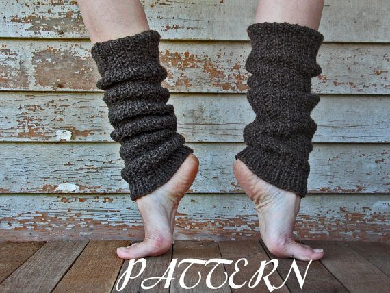 Dance Slouchy Leg Warmers Knitting Pattern Faithfulness A Set Of