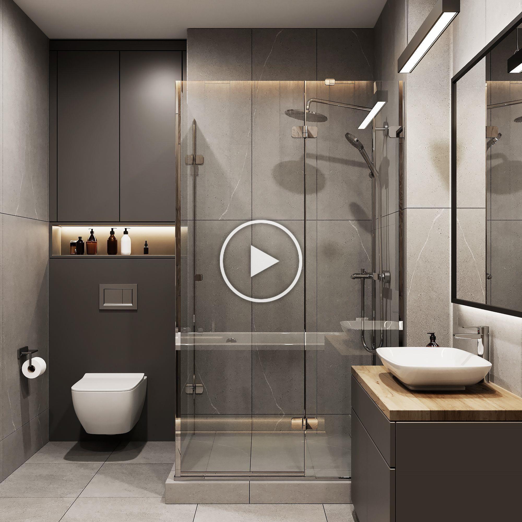 Pin By Caroline On Bathrooms Bathroom Interior Design Washroom Design Bathroom Design