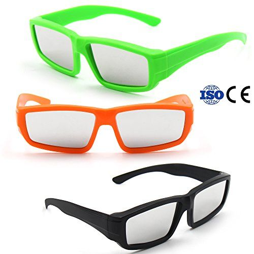 cc991c2ba8e AyoGu Solar Eclipse Glasses CE and ISO Certified (E-3 Pack Plastic Mixed)