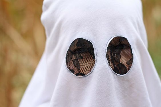 Running With Scissors Easy DIY Ghost Costume Halloween - halloween ghost costume ideas