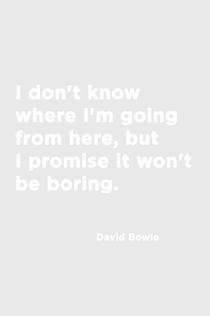 Bowie forever. @thecoveteur