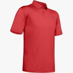 Photo of Under Armour Herren Ua Performance strukturiertes Poloshirt Red Md Under Armour