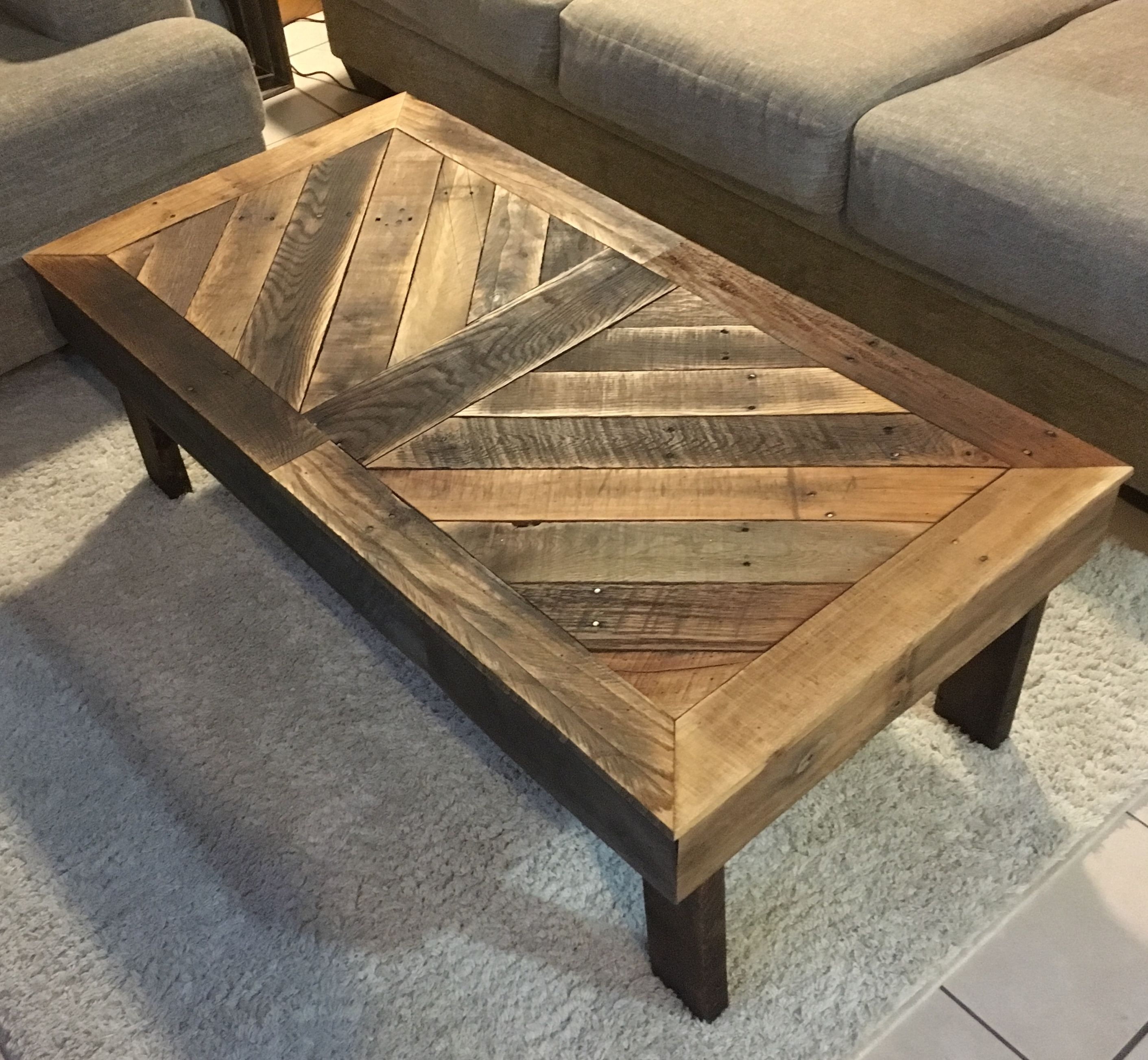 Coffee Table Made With Pallets