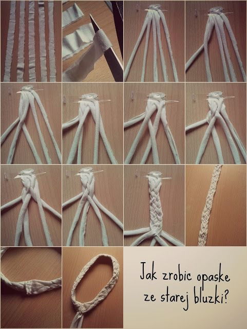1 Opaska Ze Starej Bluzki Clothes Hanger Hanger