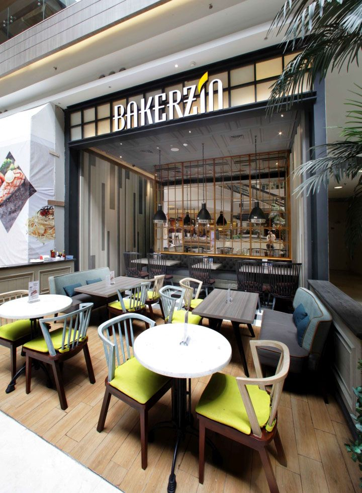 Bakerzin Café by Metaphor Interior at Kota Kasablanka