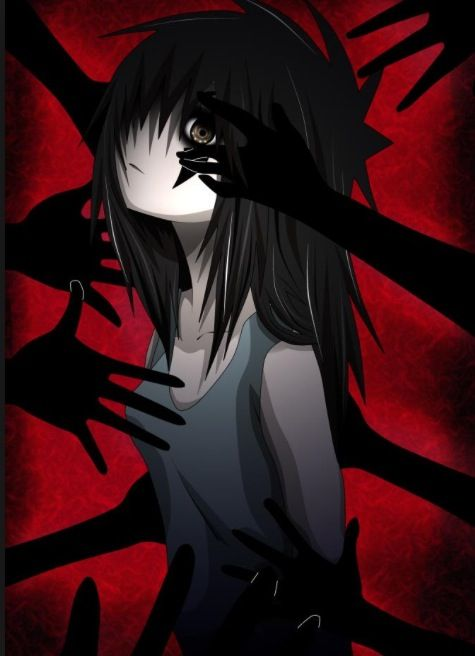 And Sally Says I Am A Bigger Monster Than Them All Maybe This Is Why Dark Anime Gothic Anime Anime