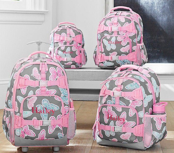 fd9d49bee305 Mackenzie Gray Butterfly Backpacks