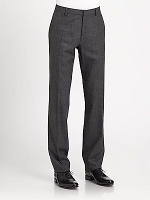 Burberry London Moorgate Stretch Wool Trousers