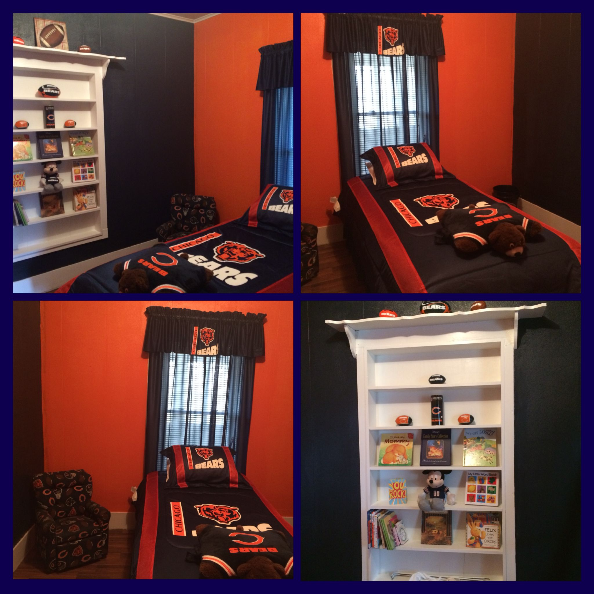 Carsyn S Chicago Bears Bedroom Boy Room Kids