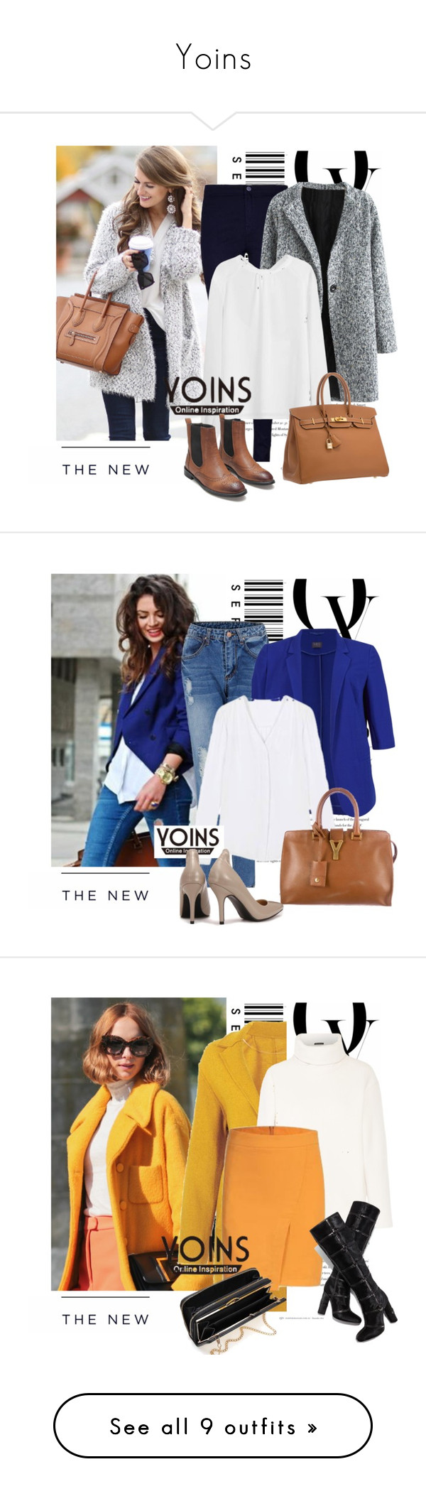 """Yoins"" by sena87 ❤ liked on Polyvore featuring Envi, American Eagle Outfitters and yoins"