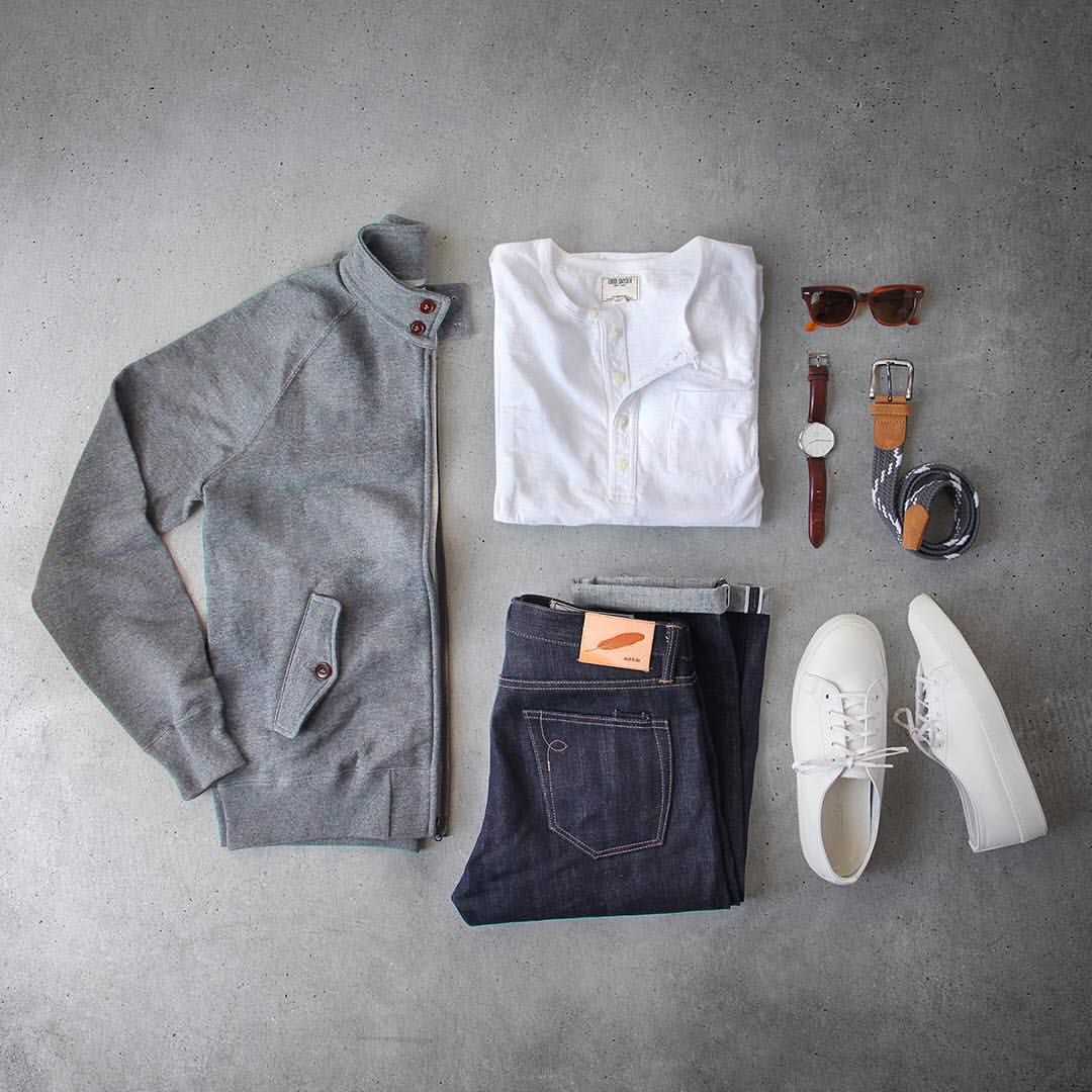 """Phil Cohen on Instagram  """"Letting the colors fade to gray. Bomber Henley fae8d3865c7"""