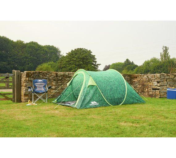 Trespass Festival Pop Up 4 Man XL Tent £69.99 Perfect for c&ing at festivals this  sc 1 st  Pinterest : 4 man tent pop up - memphite.com