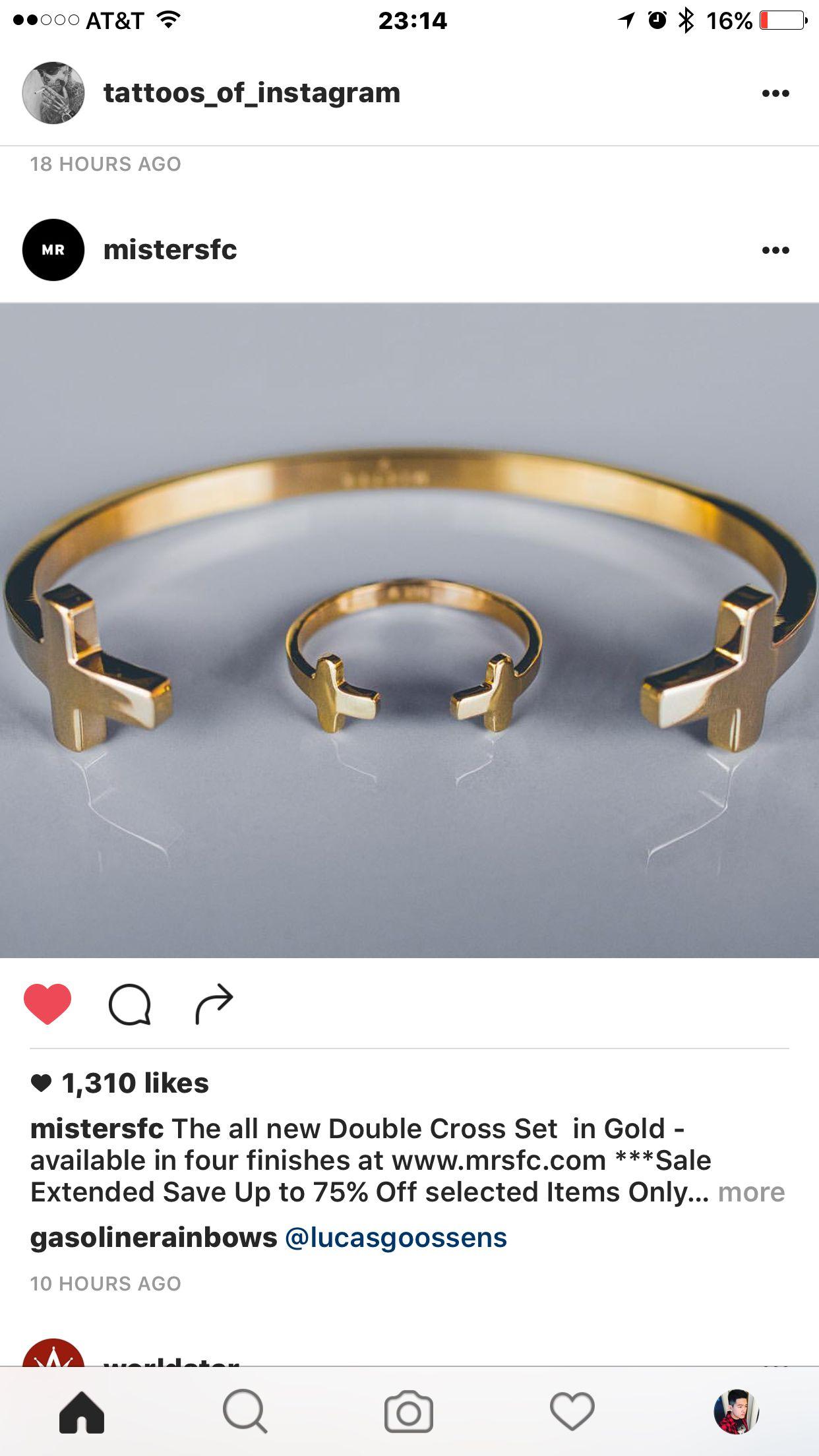 MRSFC - MISTER DOUBLE CROSS SET GOLD