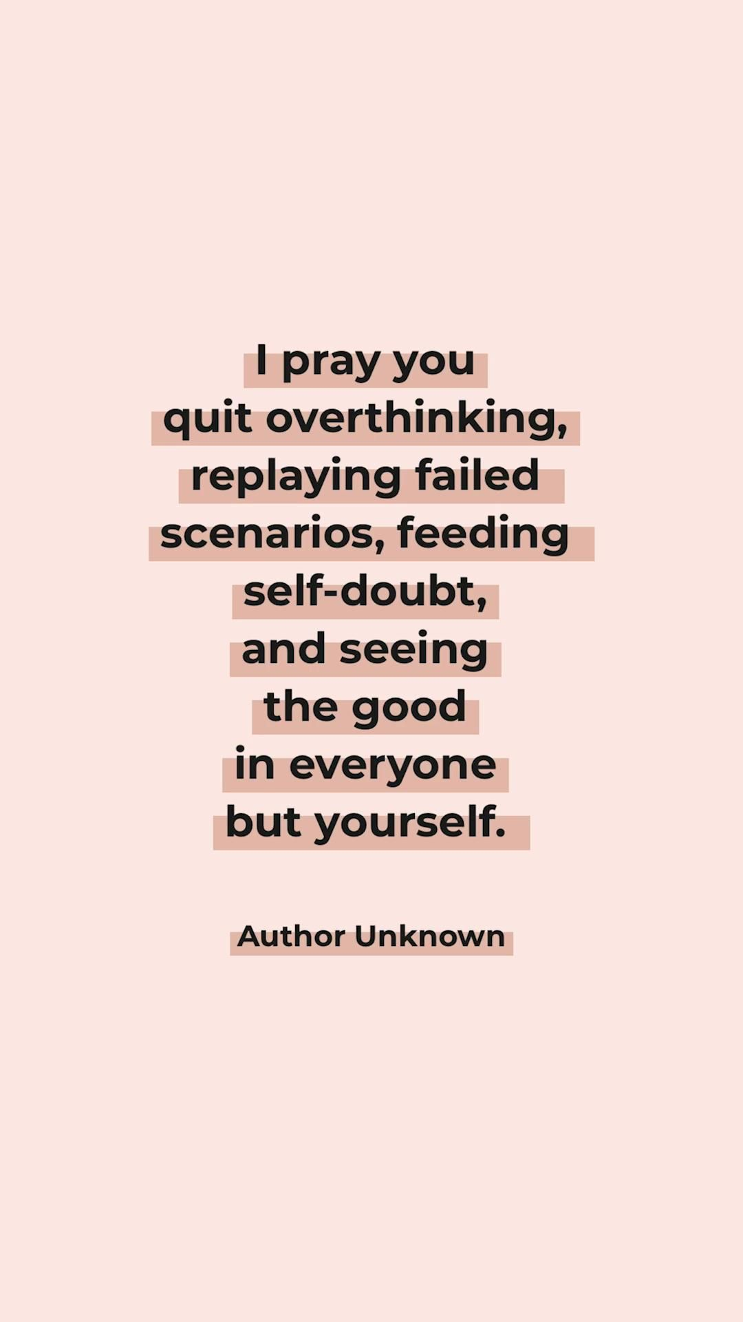 Process your feelings + move forward