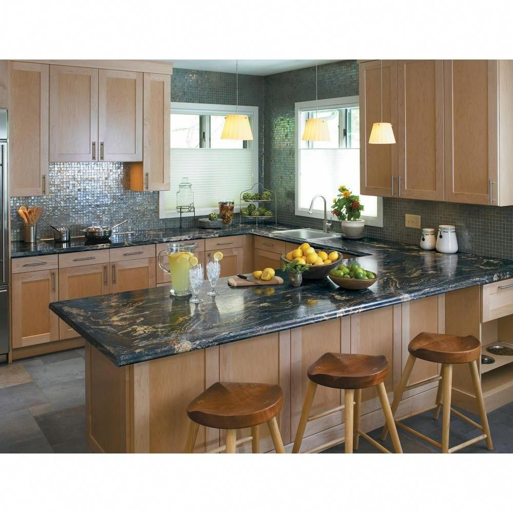 Kitchen Colors With Blue Countertops Blue Countertops Blue Kitchen Countertops Kitchen Design