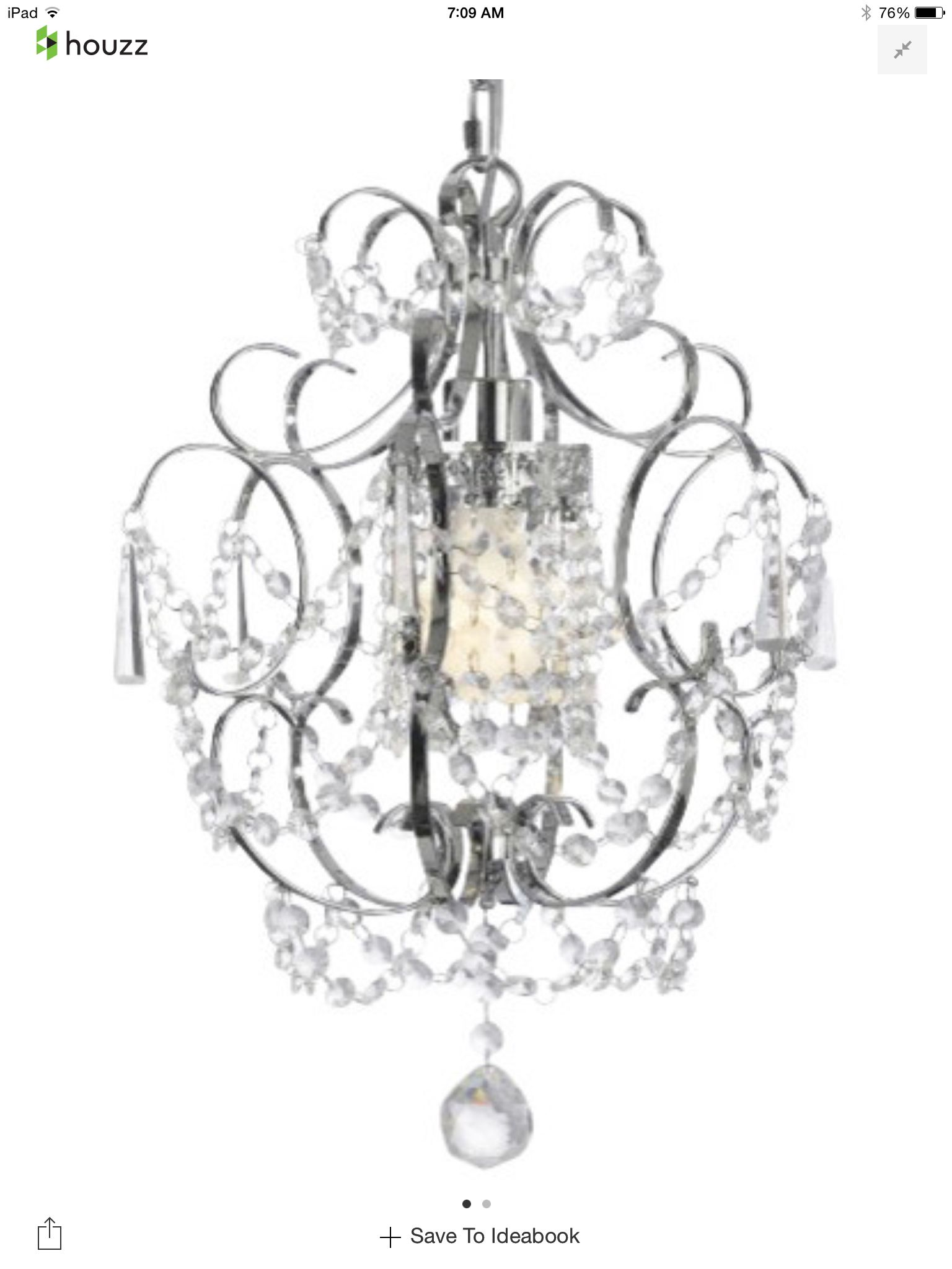 Delicieux Chandelier. Houzz, Less Than $90 Dollars