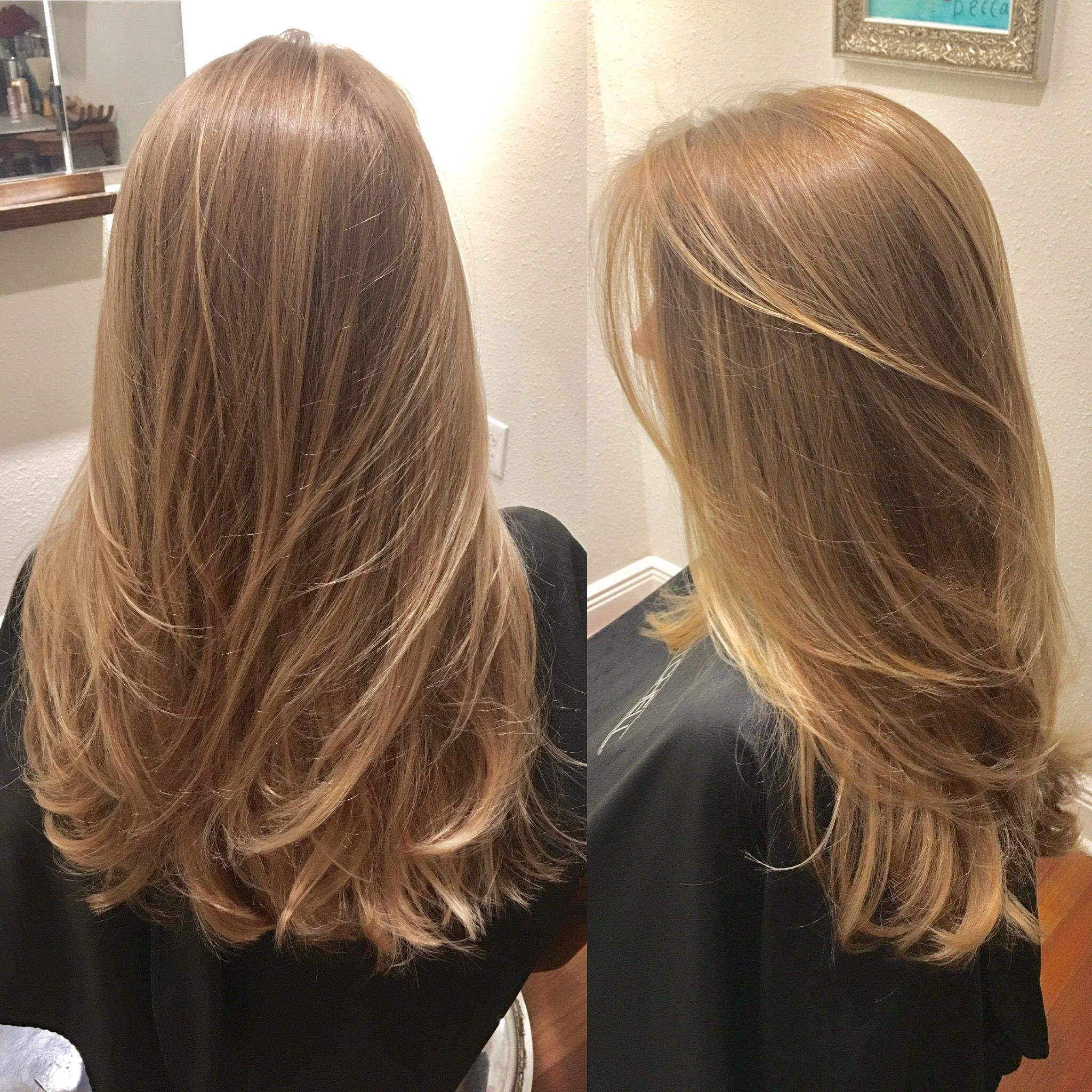 Color Client Gets Hair Colored Twice A Year Traditional Tiny
