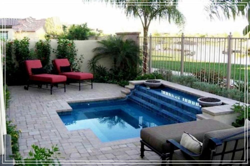 Design Ideen Fur Kleine Pools Fur Ihren Kleinen Garten Poolideen Gartenpool In 2020 Kleiner Pool Design Kleiner Hinterhof Design Hintergarten