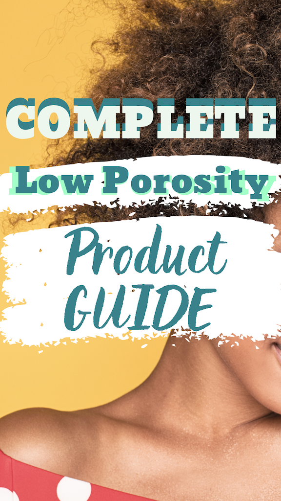 Complete Low Porosity Product Guide - If You Never Go