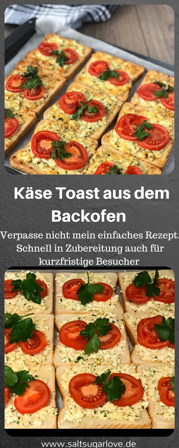 Photo of Käse Toast aus dem Backofen – SaltSugarLove