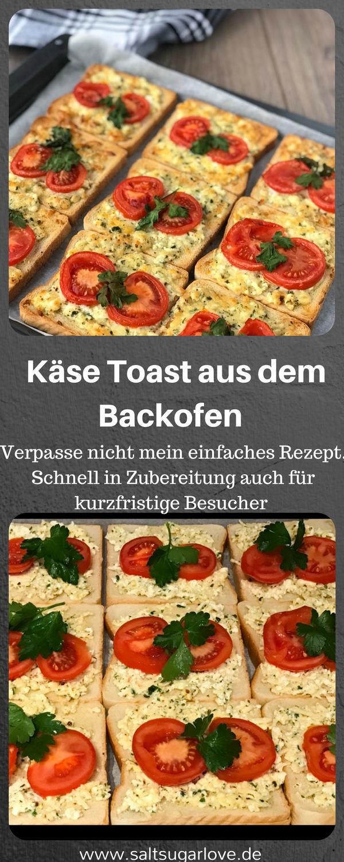 Käse Toast aus dem Backofen #frühstückundbrunch