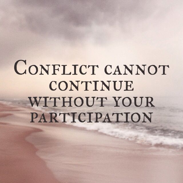 Avoid Conflict Quotes