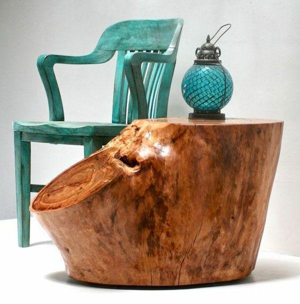 super-extravagantes-design-vom-baumstamm-tisch | Tische/Deko mal ...