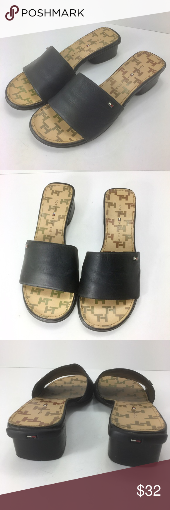 Pre-owned - Leather sandals Tommy Hilfiger FzCSy