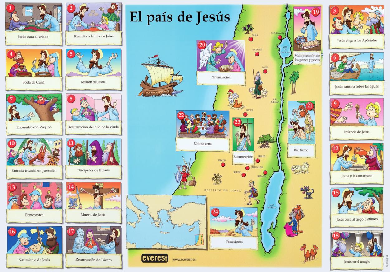 La Clase De Reli El País De Jesús Milagros De Jesús De Jesus Estudios Bíblicos Para Niños