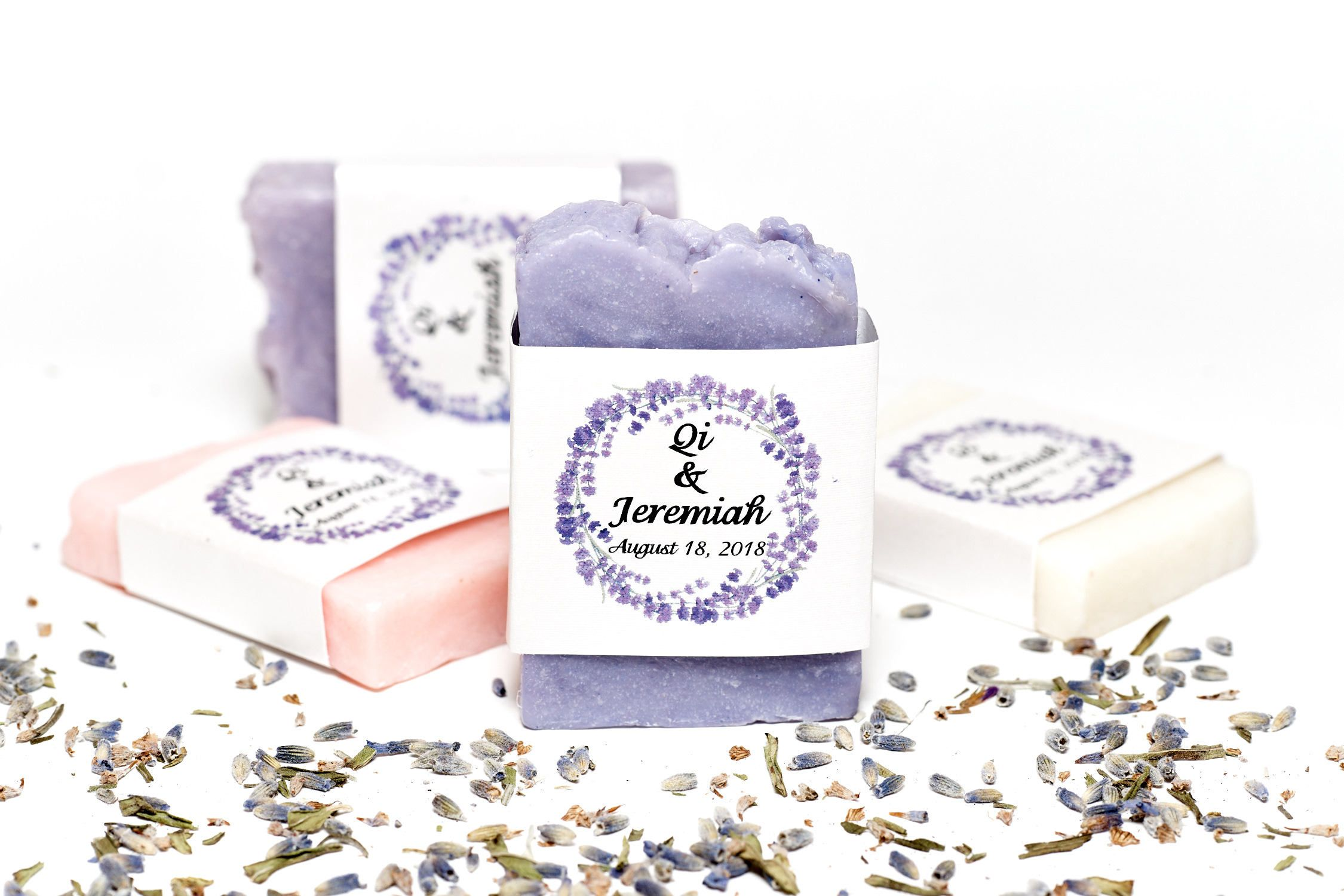 100 Wedding soap, wedding favors, Lavender Wedding , Bridal Shower ...