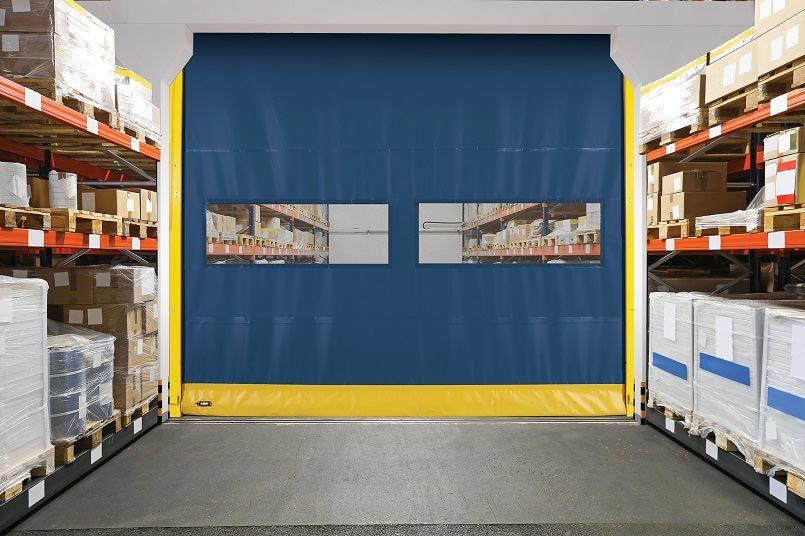 Flexible Bottom High Speed Door Model 990 Overhead Door Overhead Door Company Fire Rated Doors